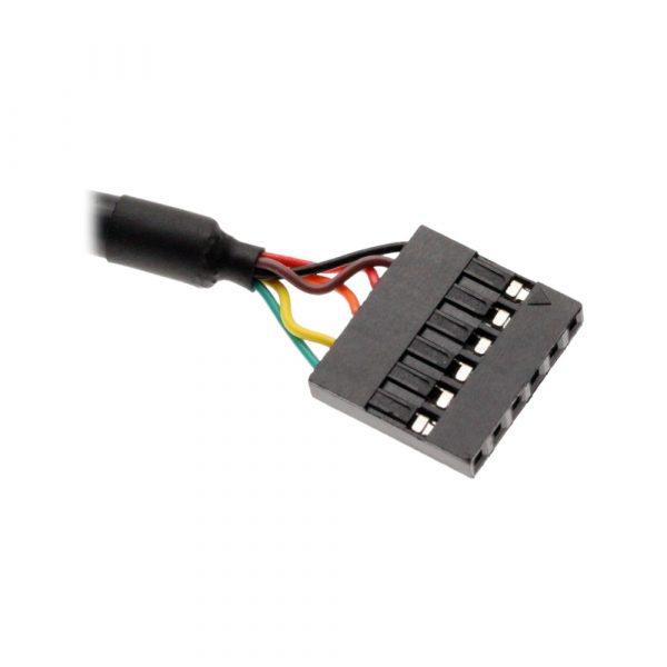 6-pin TTL header connector