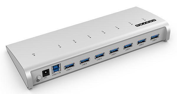 Aluminum USB 3.0 Hub Ports