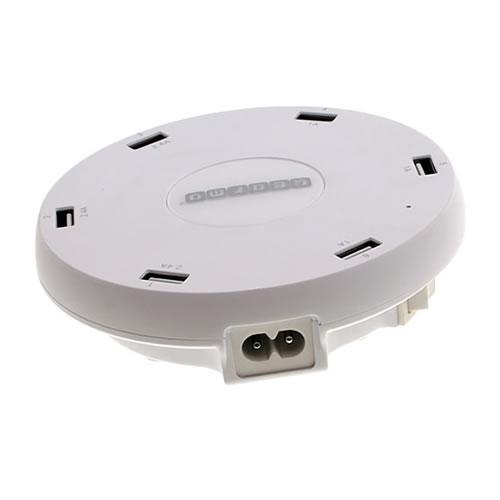 GEARMO 51W 6 Port USB AC Charger