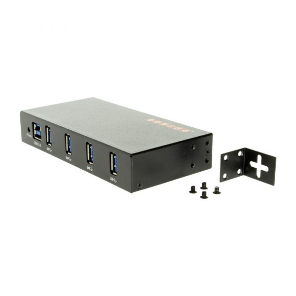 GearMo USB 3.0 4 port hub with mounitng bracket