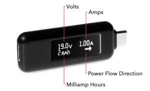 USB Type-C Power Meter Diagram