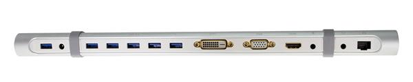 USB 3.0 Docking Station with Universal Ports