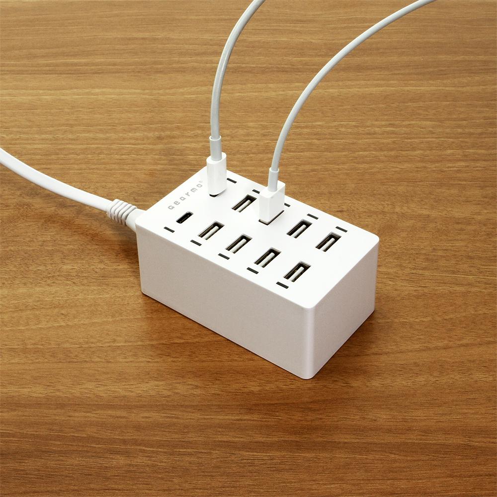 Home charger desktop charging