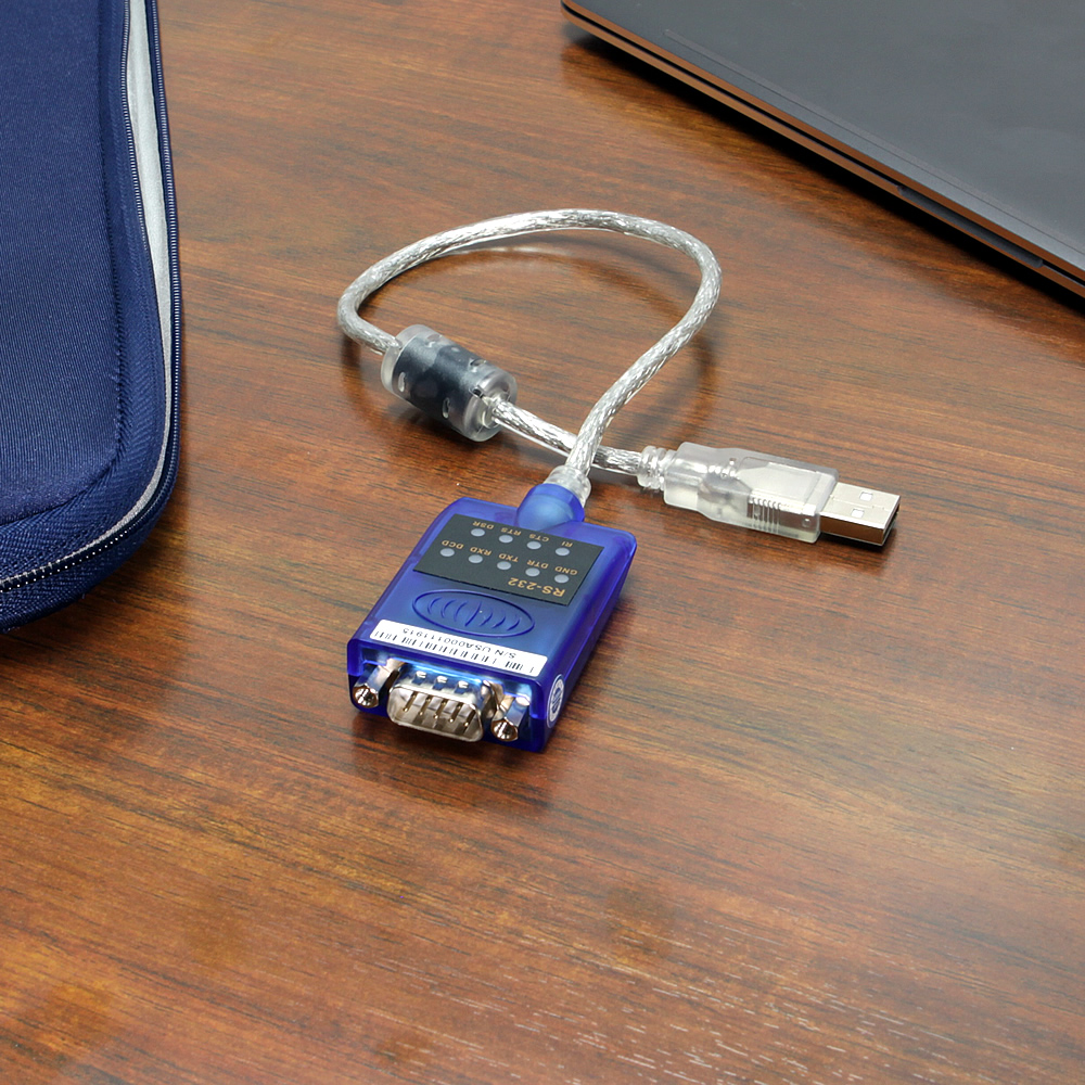 16 inch USB 2.0 Serial rs232 adapter with LED diagnostics