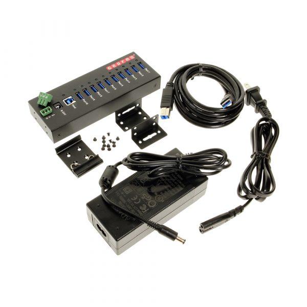 10 Port USB 3.0 Prosumer Series Hub Package