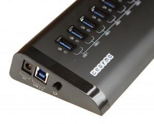 GM-3DH7 7 port USB3.0 Hub with Desktop LED Activity - VL812 controller chip set