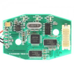 USB 2.0 to serial converter circuit image